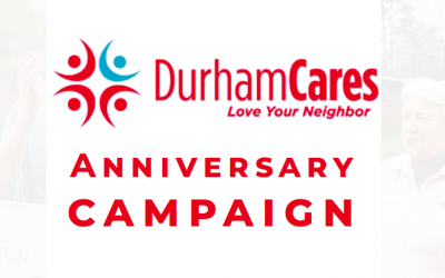 DurhamCares 10 Year Anniversary Campaign